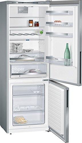 Siemens iQ500 KG49EDI40 Kühl-Gefrier-Kombination / A+++ / Kühlteil: 301 L / Gefrierteil: 111 L / Edelstahl / CoolBox / BottleRack / Inox-AntiFingerprint