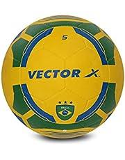 كرة قدم مطاطية مصبوبة البرازيل من فيكتور اكس، مقاس 3