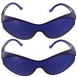 HEALLILY 2 Piezas Gafas Protectoras Ipl Anteojos Seguridad Cara Cubierta Depilación Protección Ocular Gafas Anti Salpicaduras Gafas