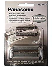 Panasonic WES9007 kniv- och skärfolie kombo pack för ES7027, ES7026, ES7017, ES7016, ES8068, ES8066, ES7006, ES7003, ES883, ES882, ES765, ES762, ES8026ES8018, ES8017