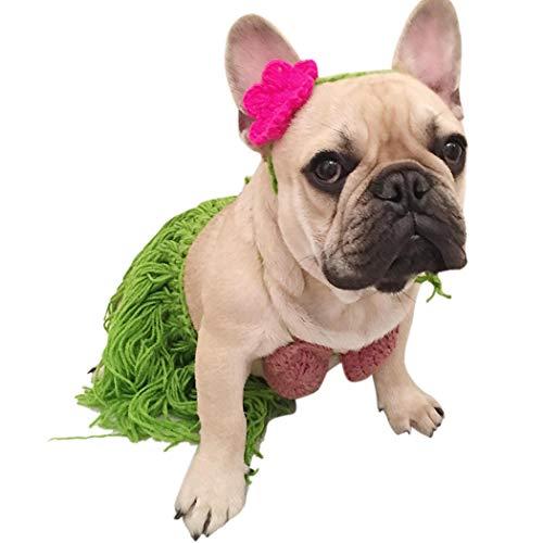 Legendog Hund Bikini Sommer Hawaiian Dog Rock Pet Kostüm für Welpen Hunde Mit Stirnband