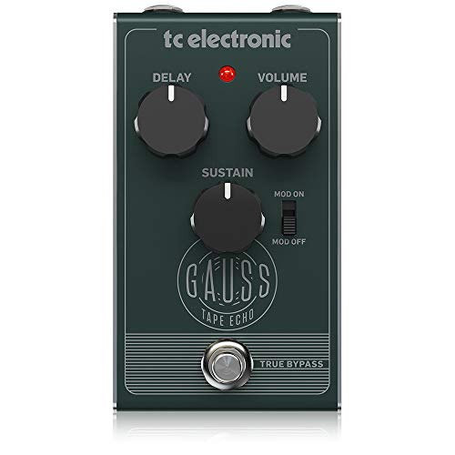 TC Electronic Super-Saturated Tape Echo Pedal