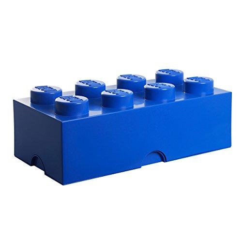 R.C. LEGO Storage Brick 8 blau   RC40041731