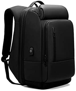 PANFU-AU Slim Lightweight Laptop Bag for College Women and Men Fashion School Backpack Water-Repellent Travel Laptop Backpack Business Backpack School Bag with USB Charging Port