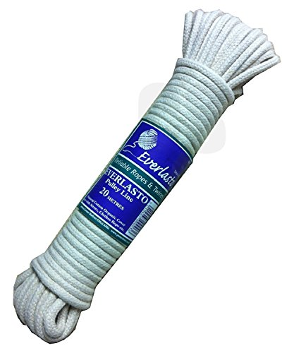EVERLASTO Natural Cotton Pulley LINE - 5.5MM X 20M