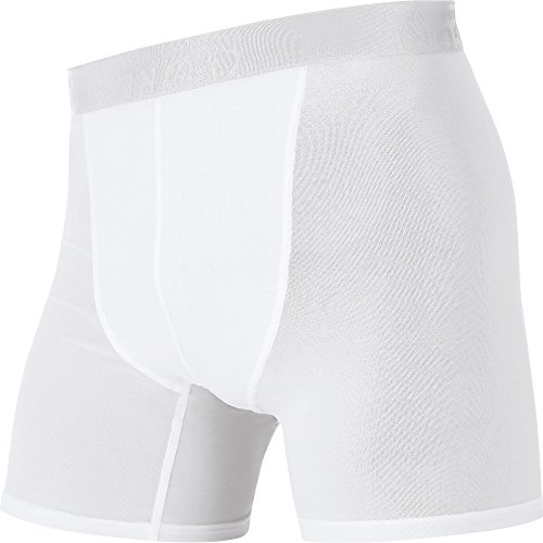 GORE WEAR Herren Kurze Hose Essentials Base Layer Boxer Shorts, White, L