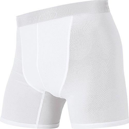 GORE WEAR Herren Kurze Hose Essentials Base Layer Boxer Shorts, White, M