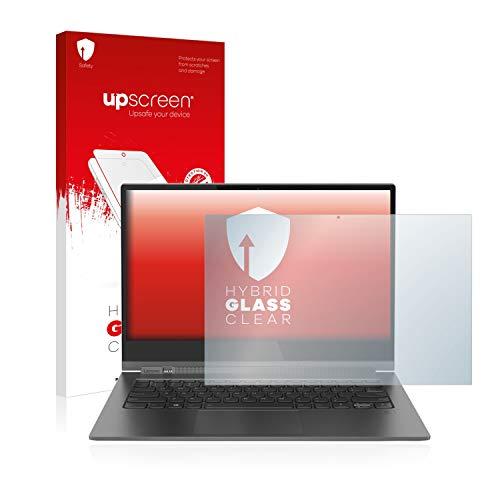 upscreen Protector Pantalla Cristal Templado Compatible con Lenovo Yoga Book C390-13 Hybrid Glass – 9H Dureza