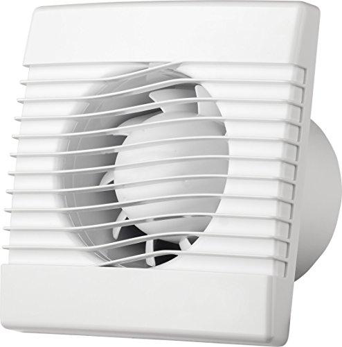 Badkamerventilator badventilator Ø 120 mm 120 mm ventilator ventilator plafondventilator wandventilator ventilator inbouwventilator badkamer keuken kleine ruimte prim120s