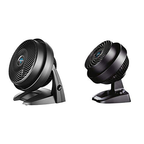 Vornado 630 Mid-Size Whole Room Air Circulator Fan &  CR1-0073-06 530 Small Whole Room Air Circulator Fan, Black