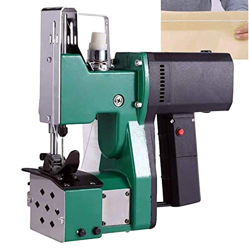 MXBAOHENG Maquinas de Coser Sacos 220V Maquina de Coser Lonas para Coser / Sellar Bolsas (Verde)