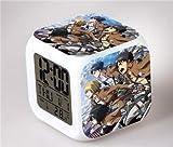 shiyueNB Anime Action Doll Reloj Despertador Digital Lámpara de Mesa Modelo Doll Action Toy Niños 2