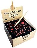Was ich an dir liebe – Der Kratzblock für liebevolle Botschaften