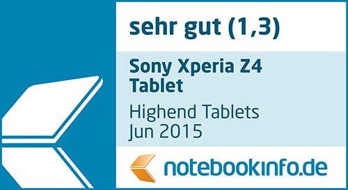 Sony Xperia Z4 Tablet-PC WiFi 10,1 Zoll - 8