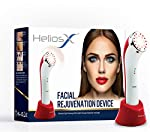 Helios X Facial Rejuvenation LED Infrared Light & Heat Therapy 3-In-1 Device for wrinkles, skin tightening, and collagen production (Helios X)