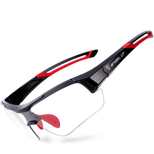 Bureze Gafas de ciclismo para bicicleta de montaña Wheelup