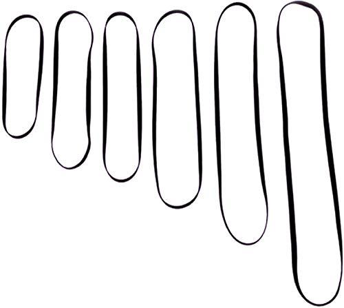 Antriebsriemen für Plattenspieler aller Marken, für elektronische Plattenspieler / Phono- / Plattenspieler / Vinyl- / Plattenspieler, Ersatz-Antriebsriemen (172 / 5 / 0,6 mm)