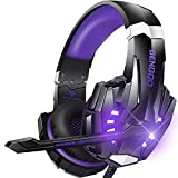 BENGOO G9000 Stereo Gaming Headset for PS4, PC, Xbox One Controller,...