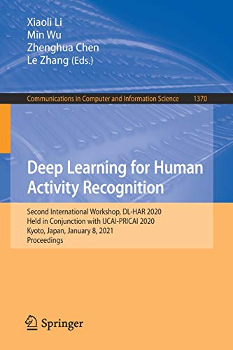 Deep Learning for Human Activity Recognition Front Cover