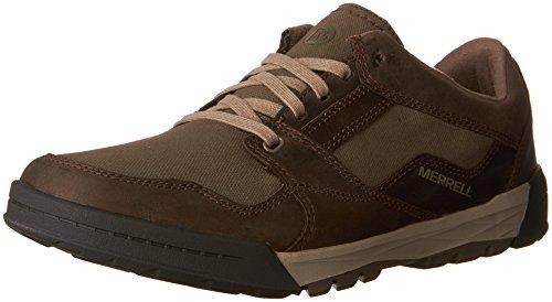Merrell Herren Berner Shift Lace Sneaker, Braun (Boulder), 41 EU