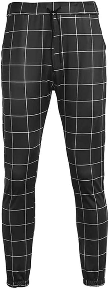 NP Mens Casual Slim Fit Sport Pants Tracksuit Skinny Joggers Sweatpants Mens Slim