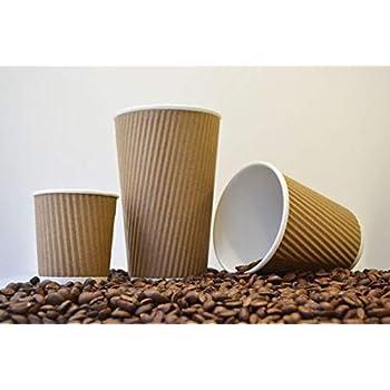 NASTEE Ripple Paper Cup Tea/Coffee Mug 225 Ml 60 PCS