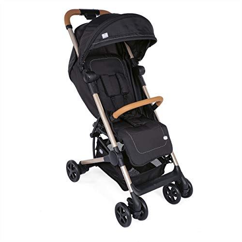 Chicco Miinimo2 Silla de paseo ultracompacta y ligera, solo 6 kg, color negro (Pure Black Special Edition)