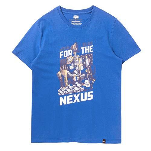 Riot Games Unisex League of Legends Official T-Shirt, Minion Join Blue Team, Large