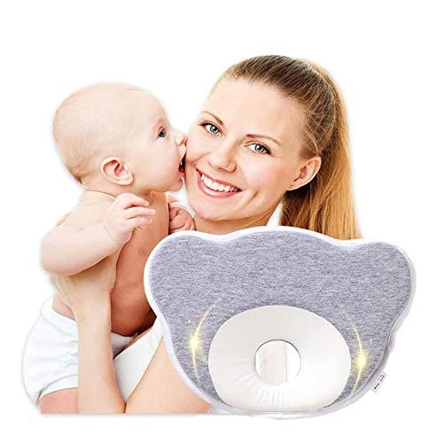Almohada en forma de bebé, almohada de memoria de rebote lento para recién nacidos de 0 a 1 años,...