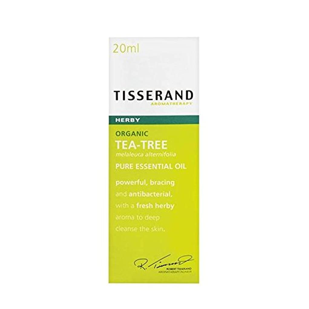 消去貫通する不承認ティスランドティーツリーオーガニックピュアエッセンシャルオイル20ミリリットル x2 - Tisserand Tea Tree Organic Pure Essential Oil 20ml (Pack of 2) [並行輸入品]