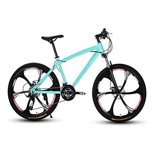 N\A ZGGYA Mountain Bike, 27 Pollici 24 Adulti a velocità variabile Mountain Bike, Doppio Disco Freno di Cross-Country da Uomo Donne Assorbimento d'urti, Bicicletta a velocità variabile