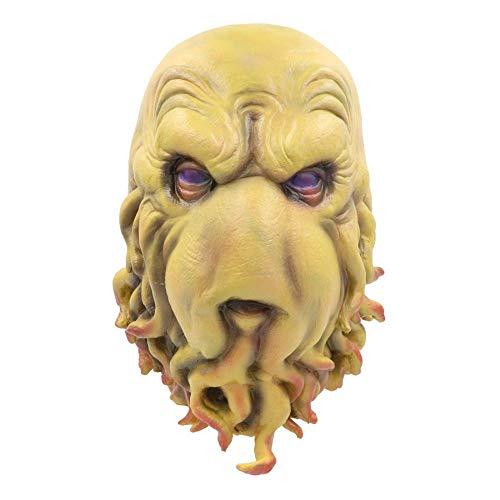 JNKDSGF HorrormaskeGeschichte Cosplay Party Masken Cthulhu Horror Vollkopf Latex Maske Helm Halloween Masken
