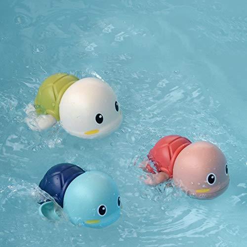 Jouets pour le bain de bébé WJ Salle de bain petite tortue bébé jouets de bain for enfants jouets de bain de natation baignoire jouer dans le jouet arroseur d'eau (Color : Three little turtles)
