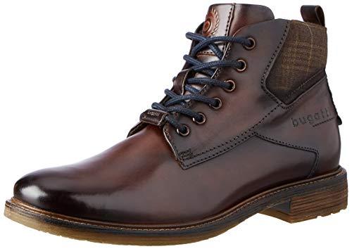bugatti Herren 311782301069 Mode-Stiefel, Dark Brown/Dark Brown, 43 EU