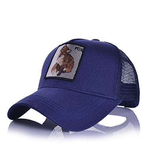 Gorras de béisbol para Hombre, Mujer, Ajustable, Universal, Sombra al Aire Libre, Animal, papá, Conductor de camión, Sombreros de Malla-a38