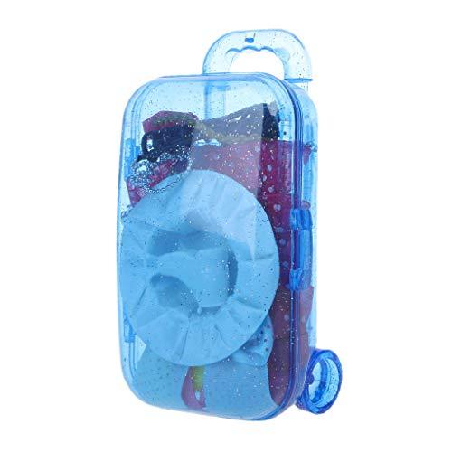 Fuwahahah Mini maleta para cochecito de bebé para Barbie