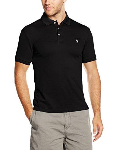 Polo Ralph Lauren, Polo para Hombre, Negro, Large