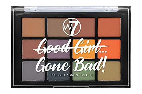 W7 | Eyeshadow Palette | Good Girl Gone Bad Eyeshadow Palette - Gone Bad | 12 Shades