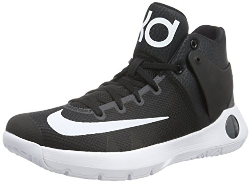 Nike KD Trey 5 IV, Scarpe da Basket Uomo, Nero (Black/White-Dark Grey), 44 EU