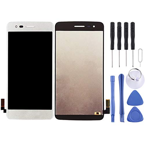 MENGHONGLLI Pantalla LCD del teléfono Celular Montaje Completo de Pantalla LCD y digitalizador para LG K8 2017 US215 M210 M200N Pantalla táctil del teléfono