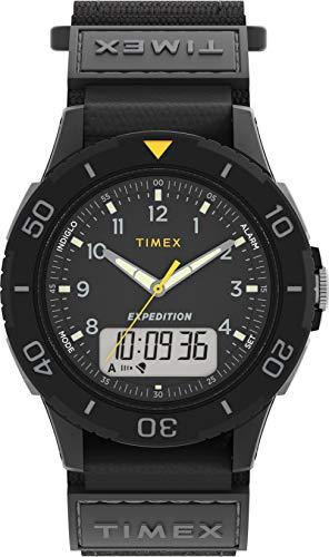 Timex Herren Combo Uhr mit Stoff Armband TW4B18300