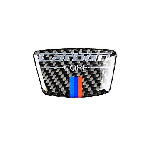 Duzhixi Kohlefaser Auto Aufkleber für BMW e46 e39 e60 e90 f30 f34 f10 1 2 3 5 7 Serie x1 x3 x5 x6 kohlefaser Emblem Auto Aufkleber b spalte Aufkleber