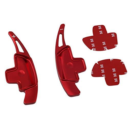 Padillas de cambio Extensión de remo de cambio de volante para Mercedes-Benz A B C E Clase CLA CLS E GLC GLE (Color : Rojo)