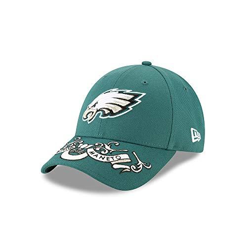 New Era Philadelphia Eagles 9forty Adjustable Cap Nfl19 Draft Green - One-Size