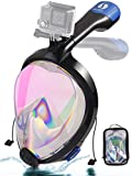 Snorkel Mask Full Face 2020 Newest UV Protection Foldable Easy Breathe Sea View...