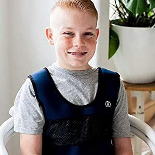 Weighted Compression Vest for Children (Ages 10+) by Harkla - Helps with Autism, ADHD, Mood, Sensory Overload - Weighted Vest for Kids with Sensory Issues