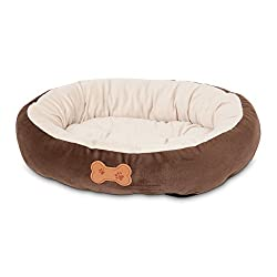 Aspen Pet Oval Cuddler Bed For Small Breeds
