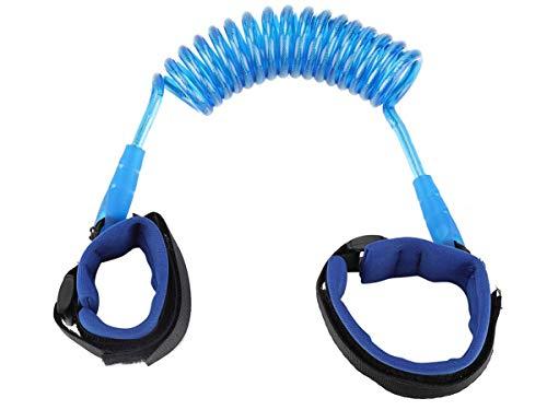 ISO TRADE Correa de seguridad para niños, color azul, con cierre de velcro fuerte, mochila 6582