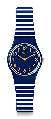 Swatch Reloj Digital de Cuarzo para Mujer con Correa de Silicona – LN153