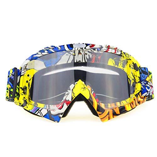 CaCaCook Gafas de esquí, Deportes de Nieve en Invierno, Gafas de Snowboard con protección UV antivaho, Gafas de Motocross a Prueba de Viento, Gafas para Hombres, Mujeres, jóvenes, Motos de Nieve